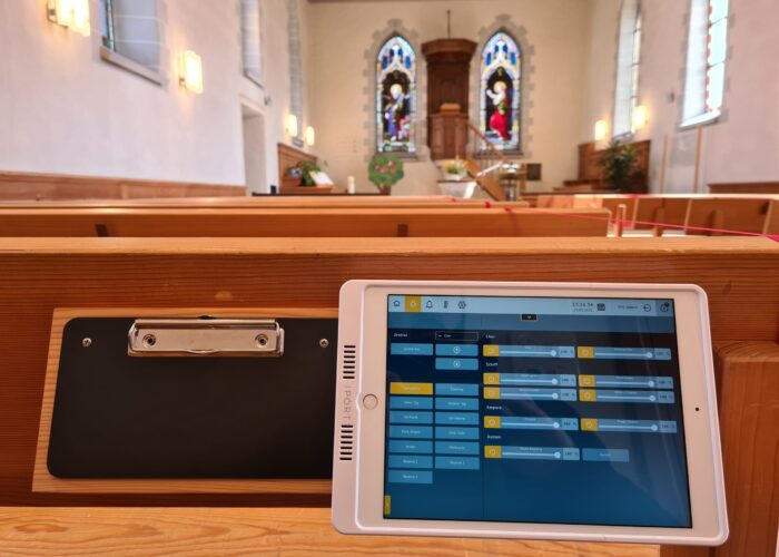 neue Bedienung evang. Kirche Feuerthalen ZH